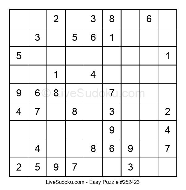 Beginners Puzzle #252423