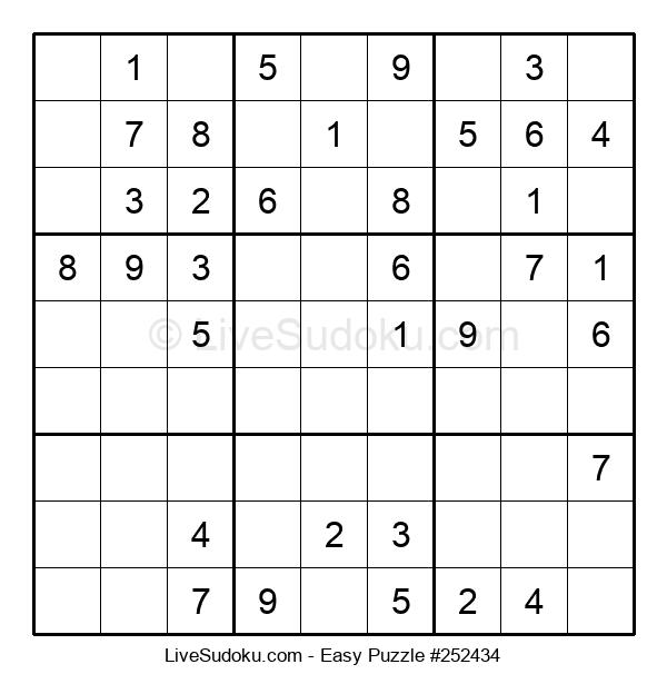 Beginners Puzzle #252434