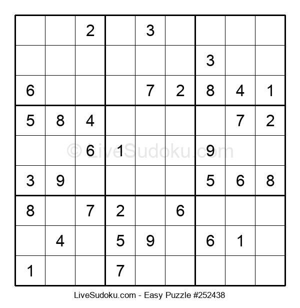 Beginners Puzzle #252438