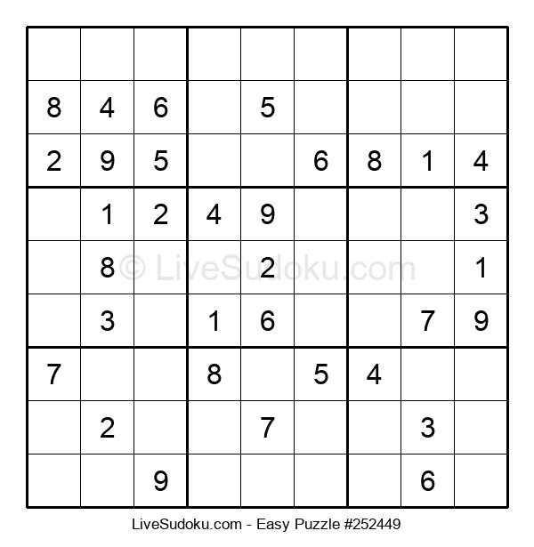 Beginners Puzzle #252449