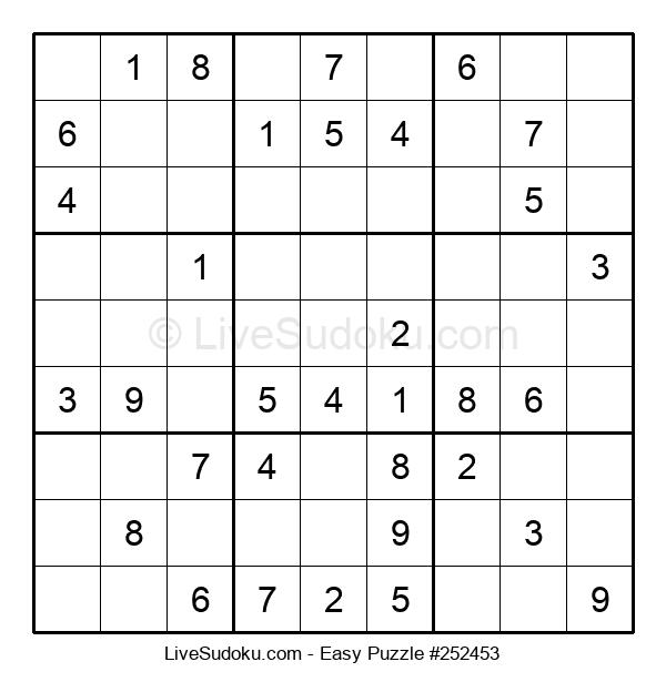 Beginners Puzzle #252453