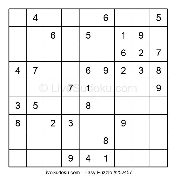 Beginners Puzzle #252457