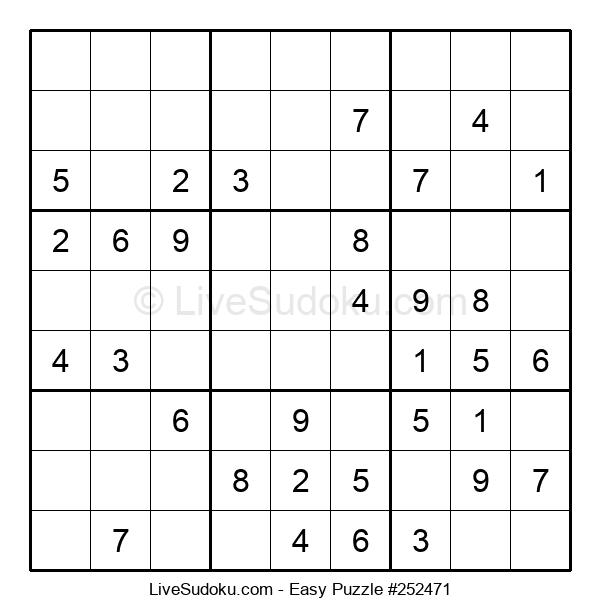 Beginners Puzzle #252471