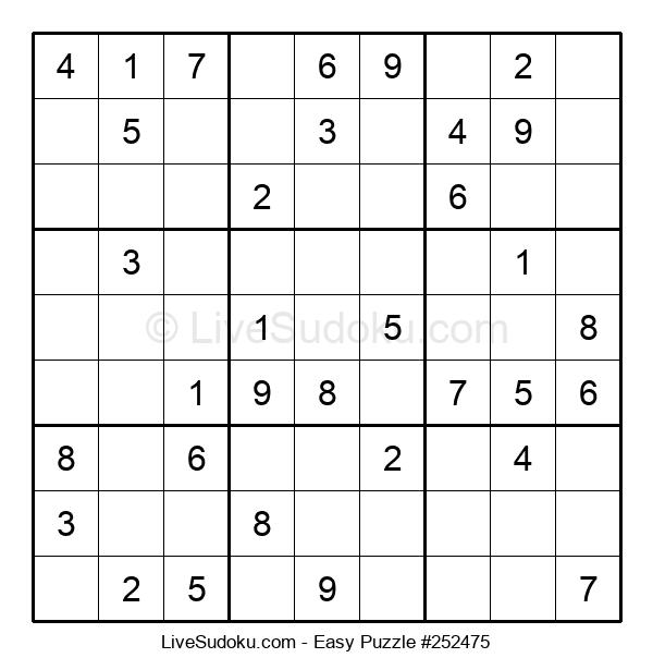 Beginners Puzzle #252475