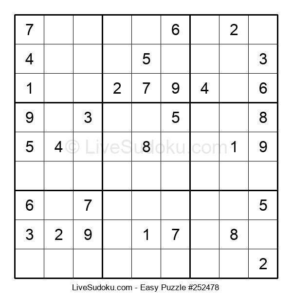 Beginners Puzzle #252478