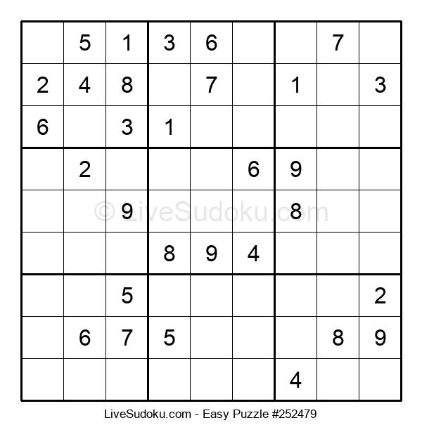 Beginners Puzzle #252479