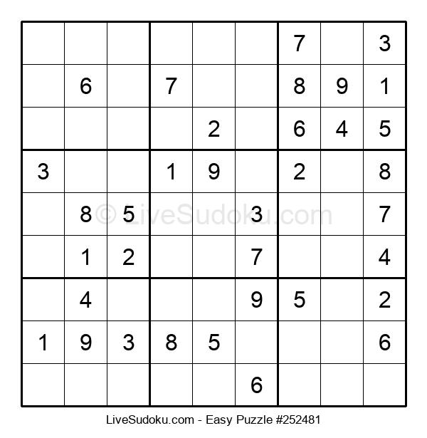 Beginners Puzzle #252481