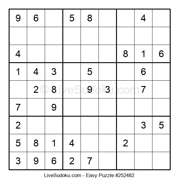 Beginners Puzzle #252482