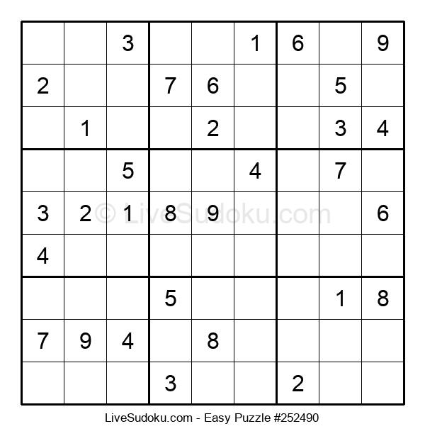 Beginners Puzzle #252490