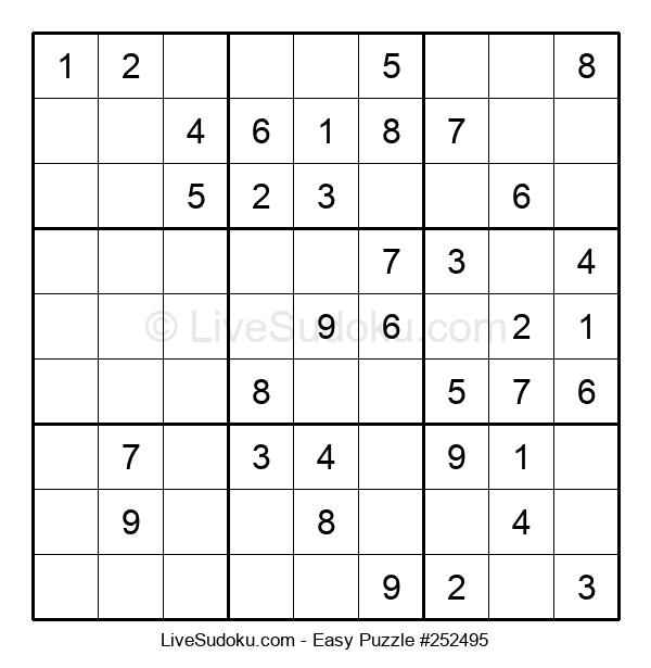 Beginners Puzzle #252495
