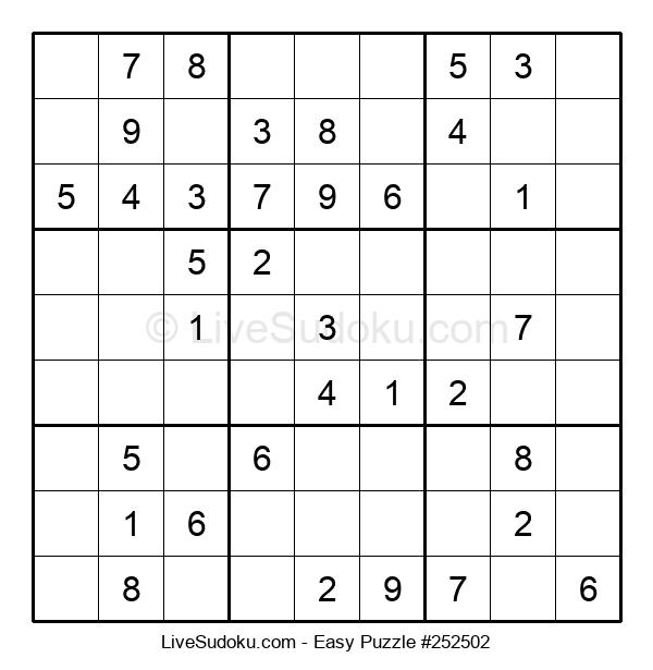 Beginners Puzzle #252502