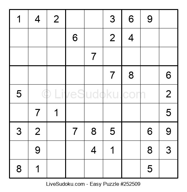 Beginners Puzzle #252509