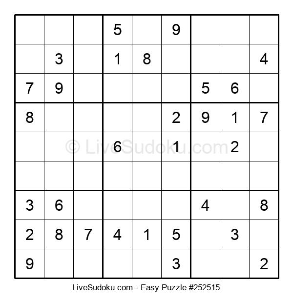 Beginners Puzzle #252515