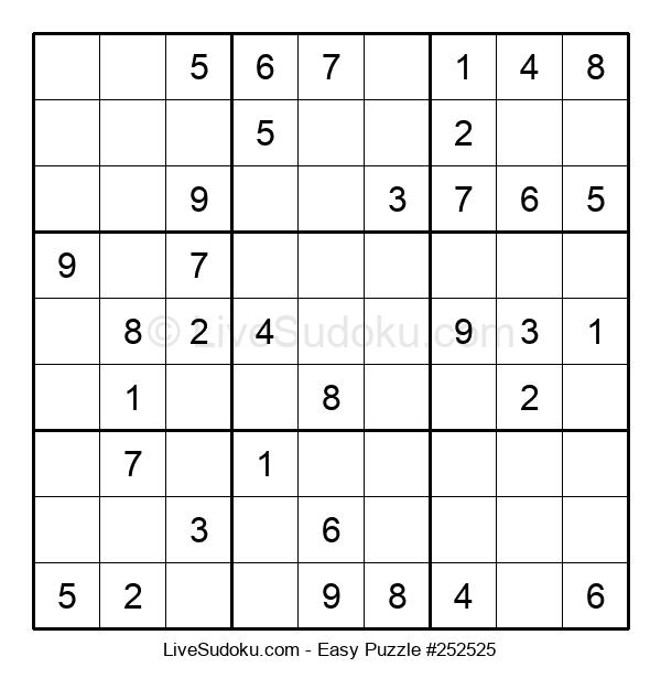 Beginners Puzzle #252525