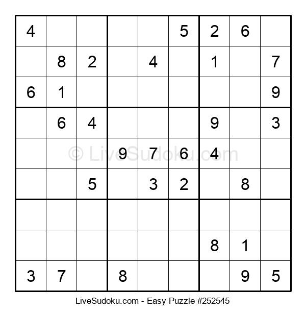 Beginners Puzzle #252545