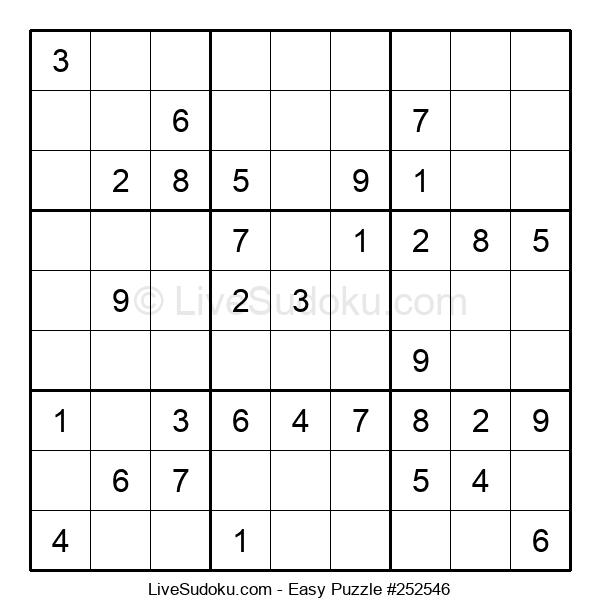Beginners Puzzle #252546