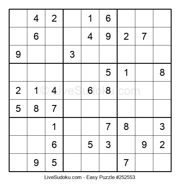 Beginners Puzzle #252553