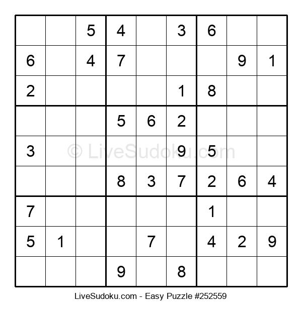 Beginners Puzzle #252559
