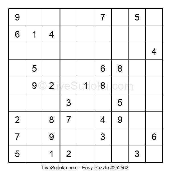 Beginners Puzzle #252562
