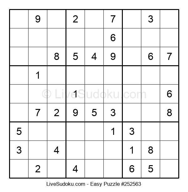 Beginners Puzzle #252563