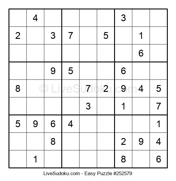Beginners Puzzle #252579