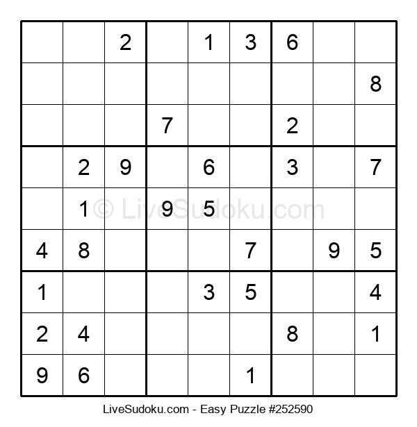 Beginners Puzzle #252590