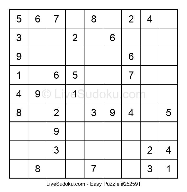 Beginners Puzzle #252591