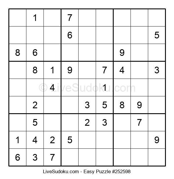 Beginners Puzzle #252598
