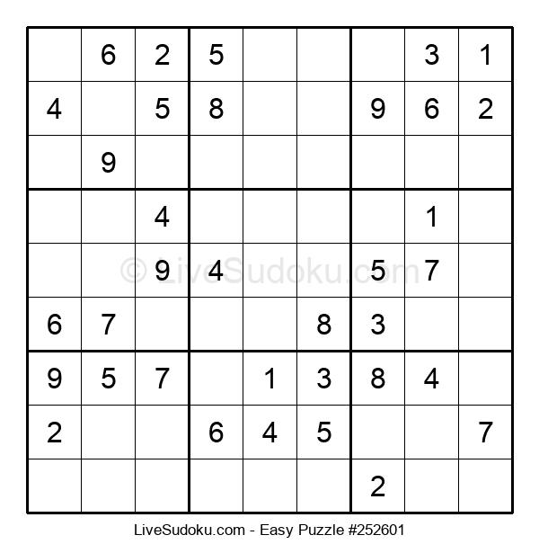 Beginners Puzzle #252601
