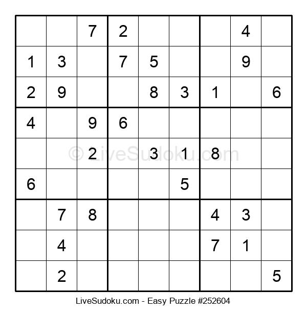 Beginners Puzzle #252604