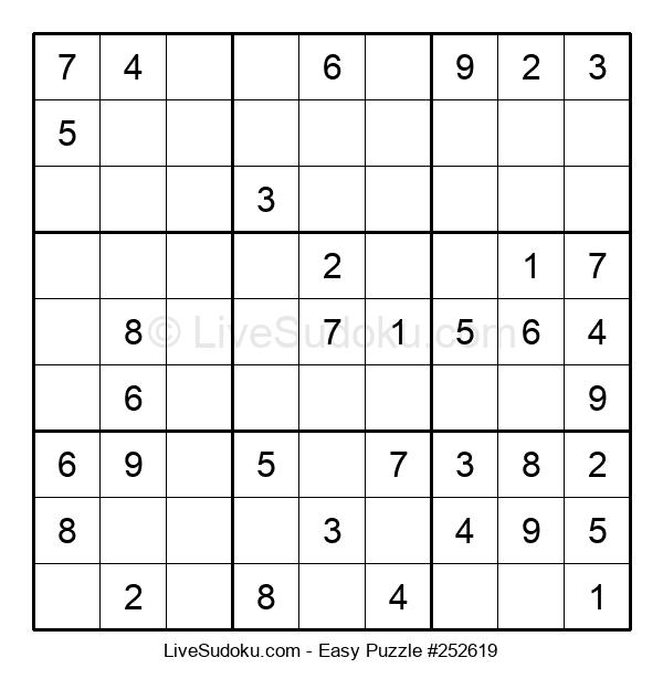 Beginners Puzzle #252619