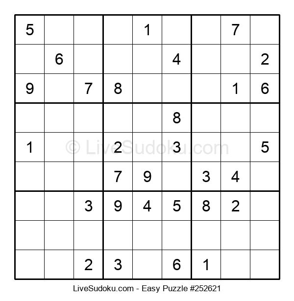 Beginners Puzzle #252621