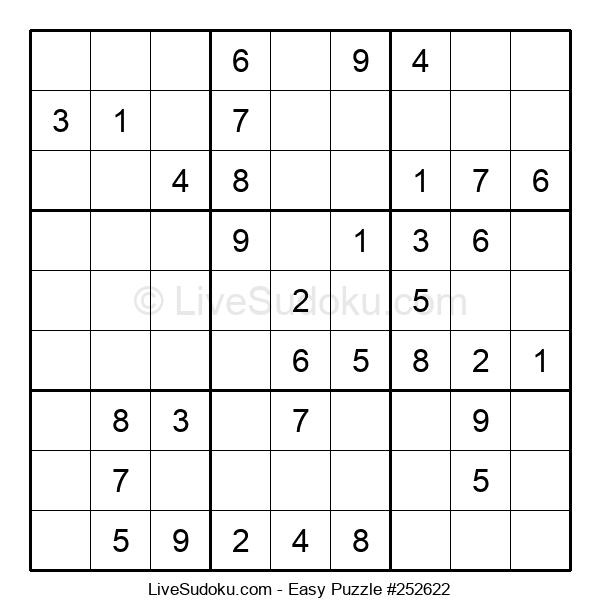 Beginners Puzzle #252622