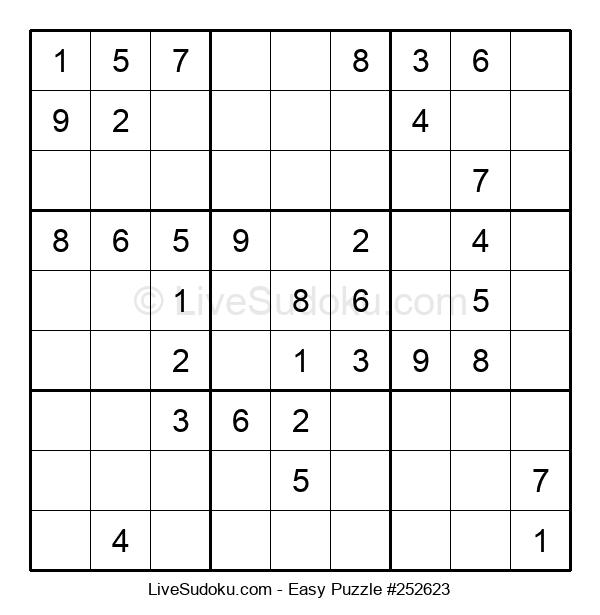 Beginners Puzzle #252623