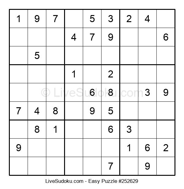 Beginners Puzzle #252629