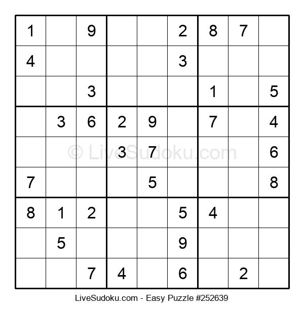 Beginners Puzzle #252639