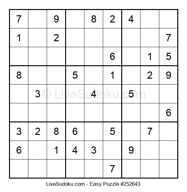 Beginners Puzzle #252643