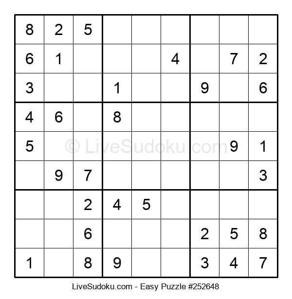 Beginners Puzzle #252648