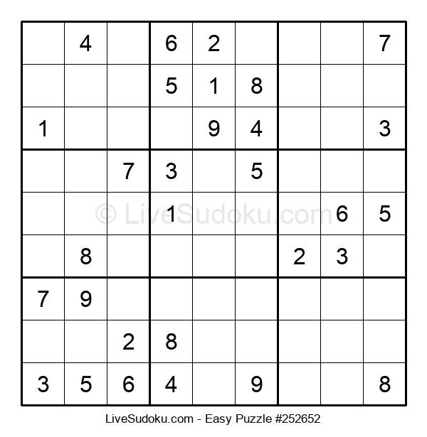 Beginners Puzzle #252652