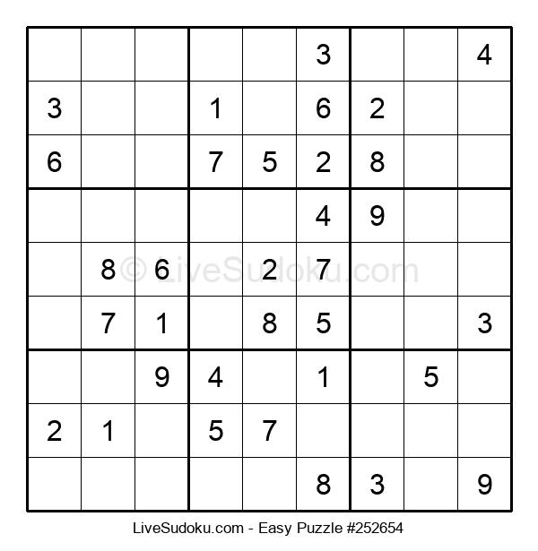 Beginners Puzzle #252654