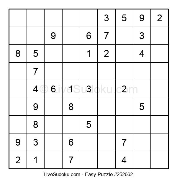 Beginners Puzzle #252662