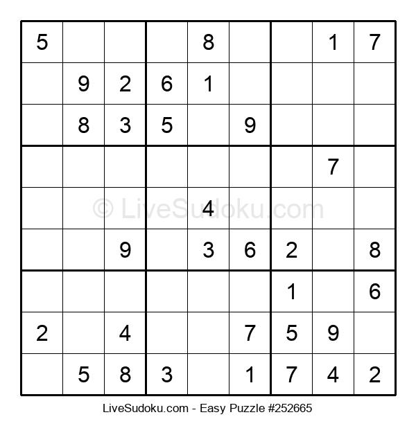 Beginners Puzzle #252665