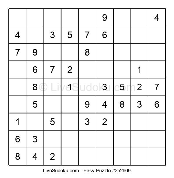 Beginners Puzzle #252669