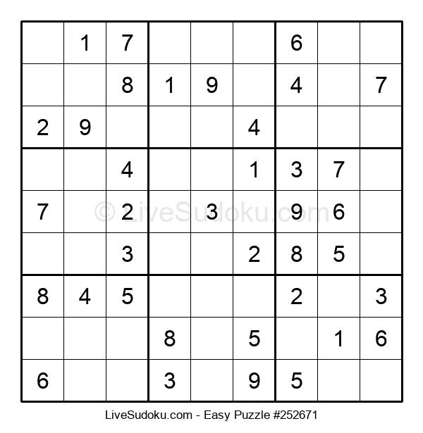 Beginners Puzzle #252671