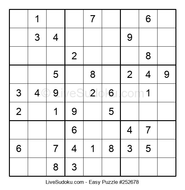 Beginners Puzzle #252678