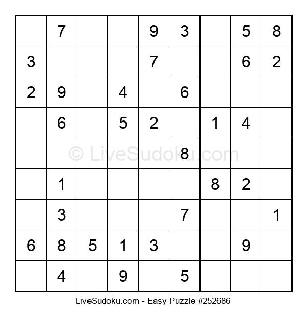Beginners Puzzle #252686