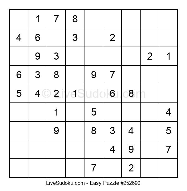 Beginners Puzzle #252690