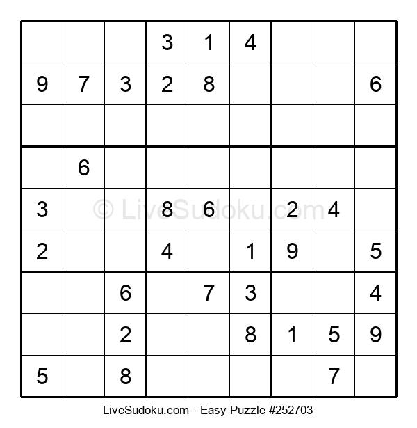 Beginners Puzzle #252703