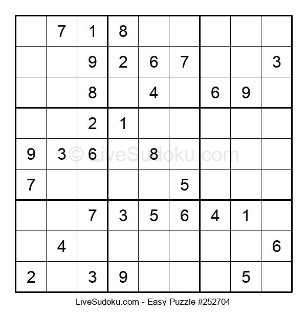 Beginners Puzzle #252704