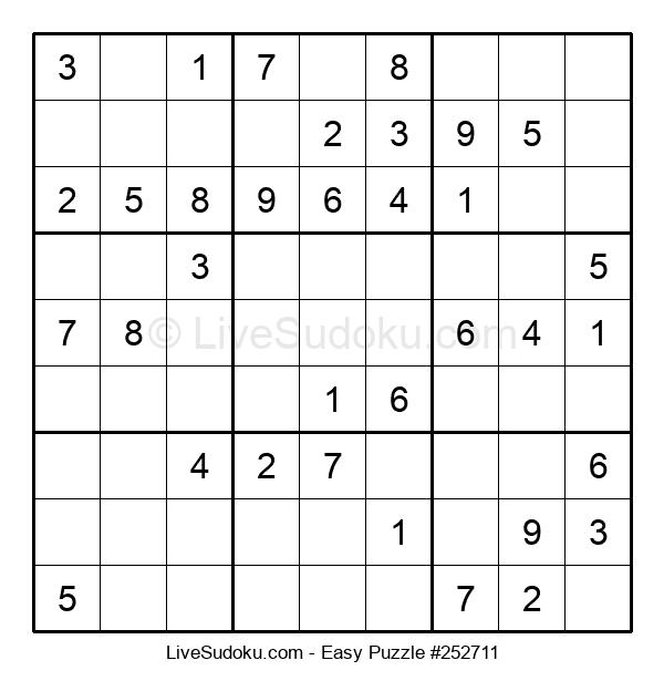 Beginners Puzzle #252711